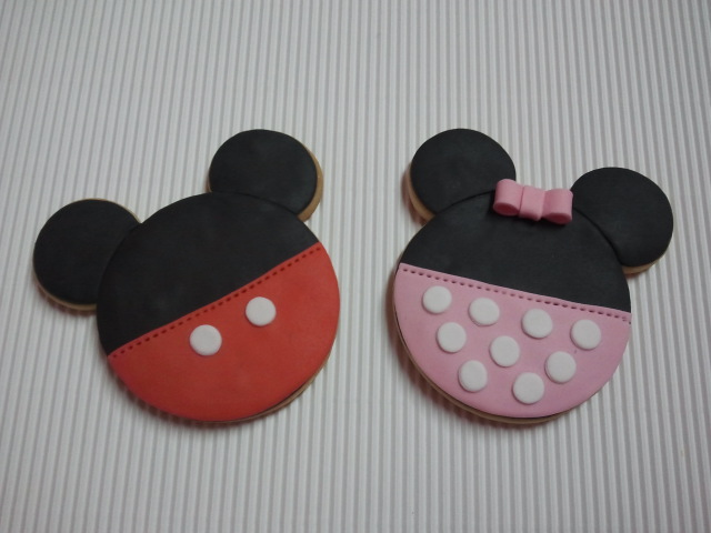 Galletas de Mickey y Minnie