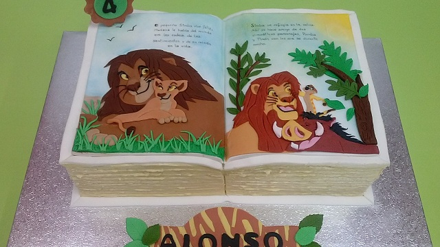 Decoracion Infantil Del Rey Leon ~   was posted in Tartas , Tartas infantiles  Bookmark the permalink
